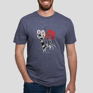 SOA Torn Dark Mens Tri-blend T-Shirt