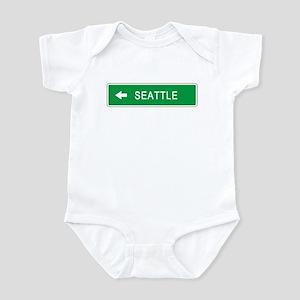 Roadmarker Seattle (WA) Infant Bodysuit