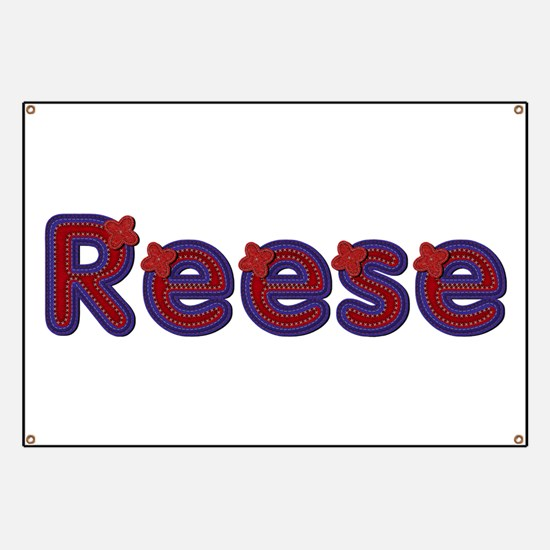 Reese Red Caps Banner