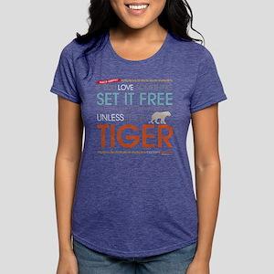 Phil's-osophy Tiger Dark Womens Tri-blend T-Shirt