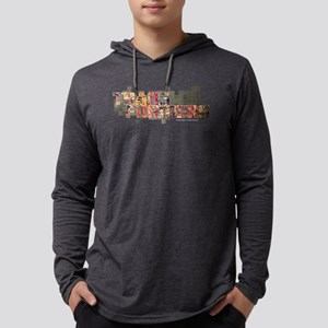 Transformers Logo Dark Mens Hooded Shirt
