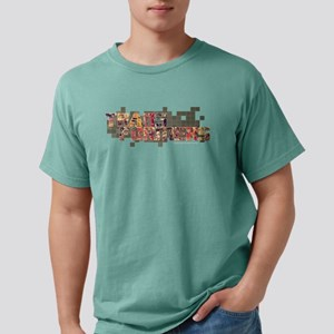 Transformers Logo Dark Mens Comfort Colors Shirt