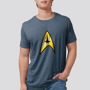 Star-Trek-Command dark Mens Tri-blend T-Shirt