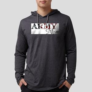 Mom Army_flag  Mens Hooded Shirt