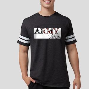 Mom Army_flag  Mens Football Shirt