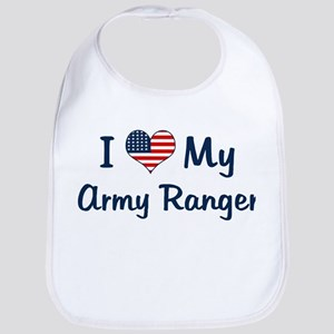 Army Ranger: Flag Love Bib