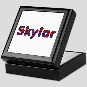 Skylar Red Caps Keepsake Box