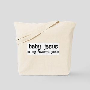 """Baby Jesus"" Tote Bag"