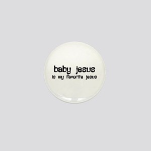 """Baby Jesus"" Mini Button"