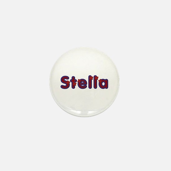 Stella Red Caps Mini Button