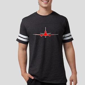 kc-10 red grey Mens Football Shirt