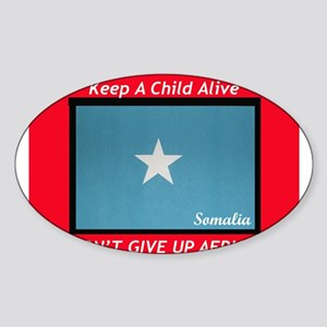 GOING RED Oval Sticker