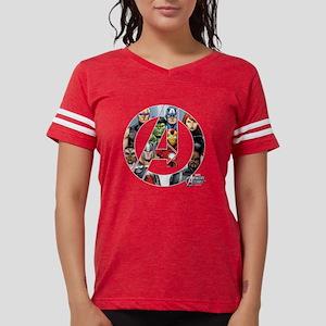 assemble a dark Womens Football Shirt