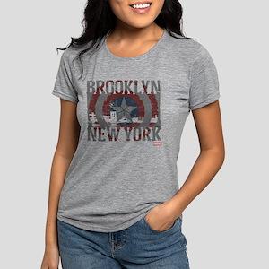 Captain America Brooklyn  Womens Tri-blend T-Shirt