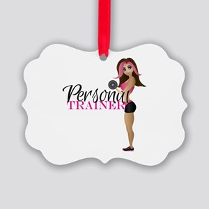 Personal Trainer Fit Girl Ornament