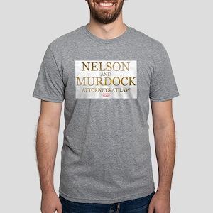 Daredevil Nelson and Murdoc Mens Tri-blend T-Shirt