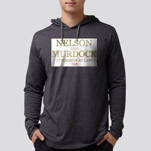 Daredevil Nelson and Murdock Mens Hooded Shirt