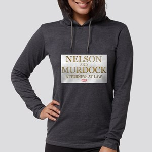 Daredevil Nelson and Murdock Womens Hooded Shirt
