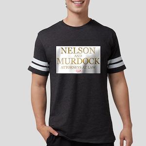Daredevil Nelson and Murdock Mens Football Shirt