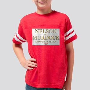 Daredevil Nelson and Murdock Youth Football Shirt