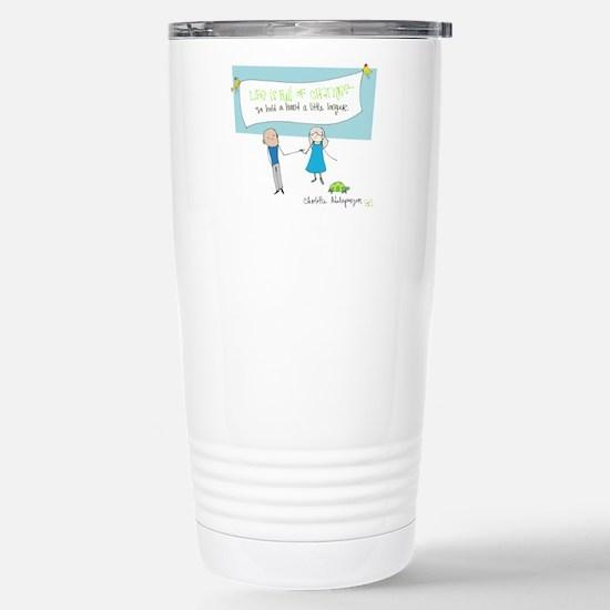 Hold a Hand Travel Mug