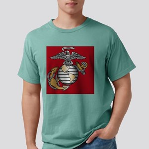Marines USMC Eagle Globe Mens Comfort Colors Shirt