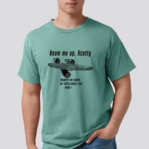 Beam me up Scotty theres Mens Comfort Colors Shirt
