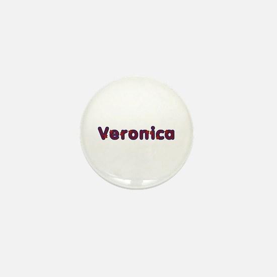 Veronica Red Caps Mini Button