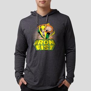 Iron Fist 1 Mens Hooded Shirt
