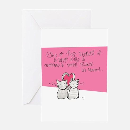 Treats Greeting Card