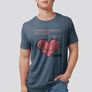 ITS A BEAUTIFUL... Mens Tri-blend T-Shirt
