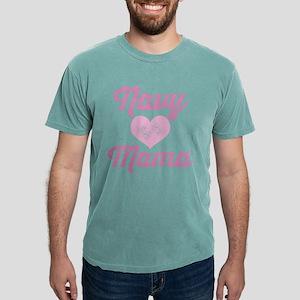 Navy Mama Pride Mens Comfort Colors Shirt