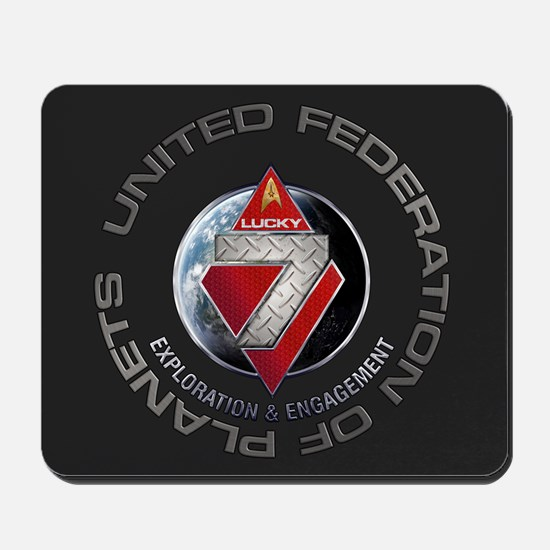 FLEET7-R1 Charcoal Mousepad
