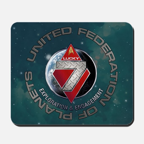 FLEET7-R1-Starfield Mousepad