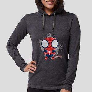 Spiderman-Mini light Womens Hooded Shirt