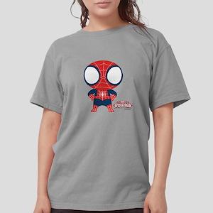 Spiderman-Mini light Womens Comfort Colors Shirt