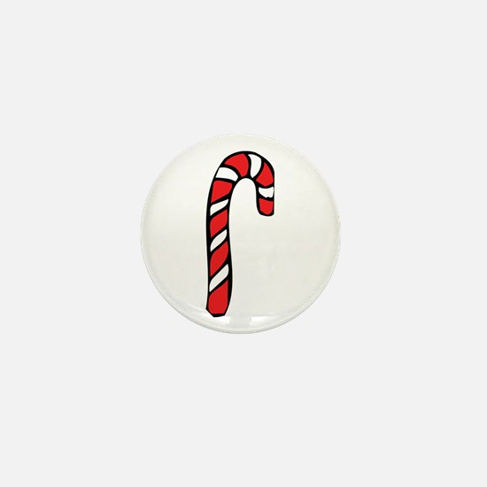 Candy Cane Mini Button