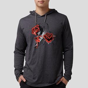 Daredevil Kingpin Roses Mens Hooded Shirt