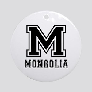 Mongolia Designs Ornament (Round)
