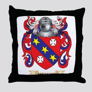 Messina Coat of Arms - Family Crest Throw Pillow