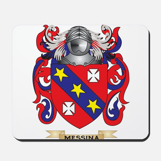 Messina Coat of Arms - Family Crest Mousepad