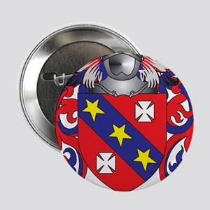 """Messina Coat of Arms - Family Crest 2.25"""" Button"""