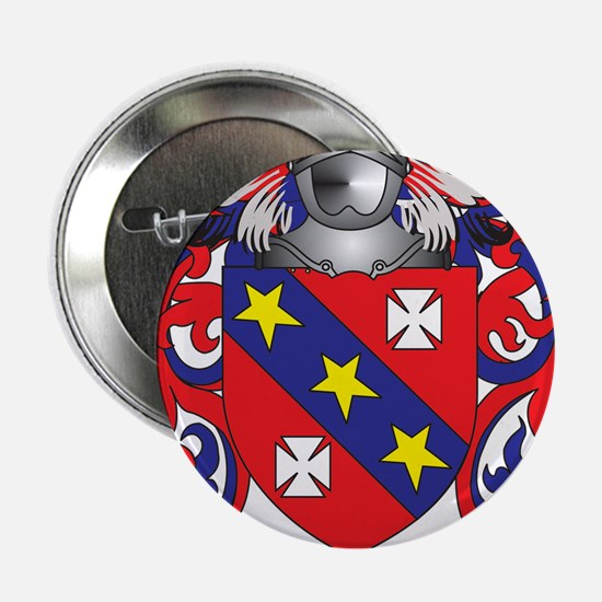 "Messina Coat of Arms - Family Crest 2.25"" Button"