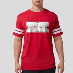 how_airplanes_fly_2 Mens Football Shirt