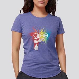 Glee Splatter Light Womens Tri-blend T-Shirt