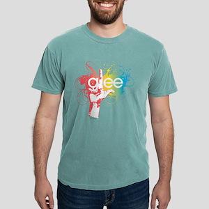 Glee Splatter Light Mens Comfort Colors Shirt