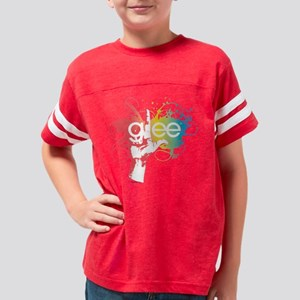 Glee Splatter Light Youth Football Shirt