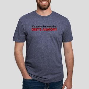 ratherwatchGreys Mens Tri-blend T-Shirt