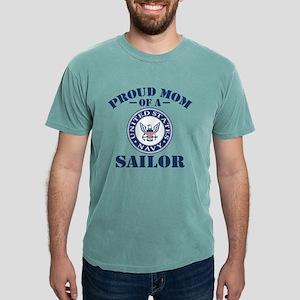 Proud US Navy Mom Mens Comfort Colors Shirt