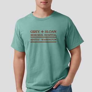 GREY SLOAN MEMORIAL HOSP Mens Comfort Colors Shirt